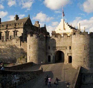 Visiting Stirling Castle